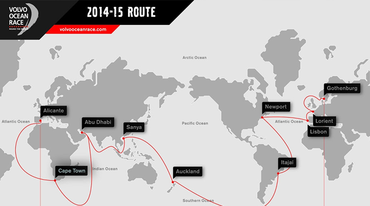 route-volvo-ocean-race-2014-2015